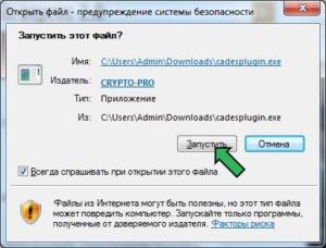 КриптоПро ЭЦП Browser plug-in версии 2.0 (CadesPlugin) скачать. Инструкция по установке